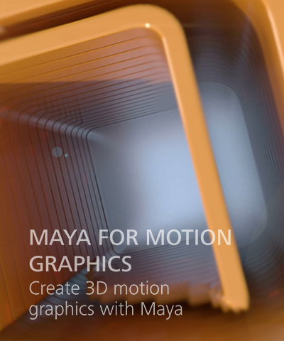 Maya 3D Motion Graphics